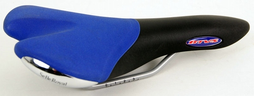 Zadel Selle Royal BTVS race / ATB zw/bl/chroom