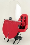 Bobike one mini strawberry red incl. windscherm !
