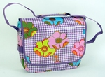 New Look 204 Postino messenger fiori purple